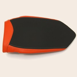 Seat passenger no-slide leath/neoprene red